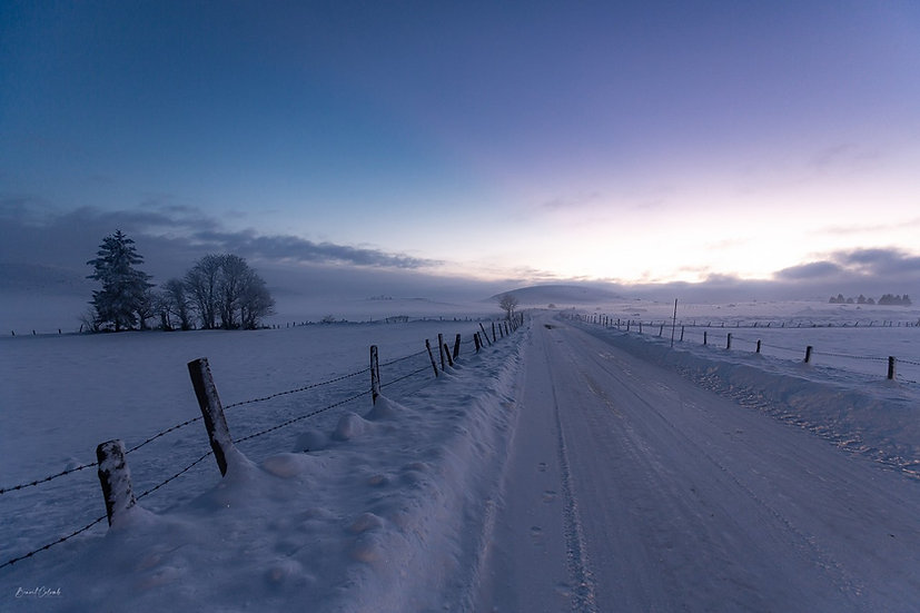 La route de l'Aubrac