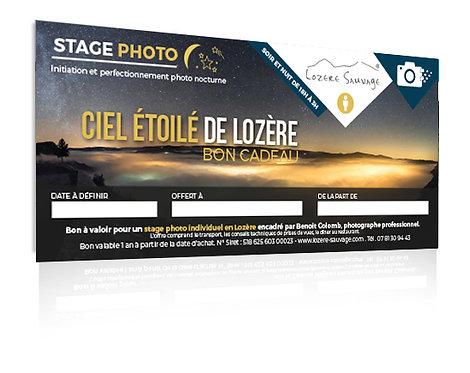 Stage photo nocturne