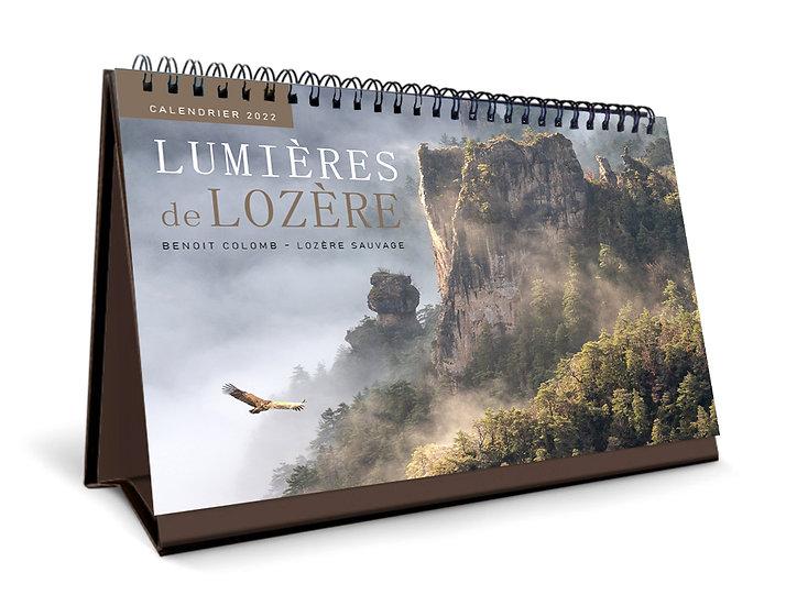 """Calendrier 2022 """"Lumières de Lozère"""""""