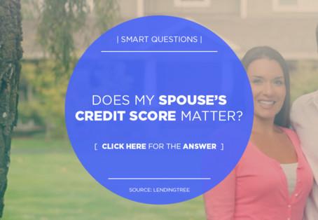 Does My Spouse's Credit Score Matter?