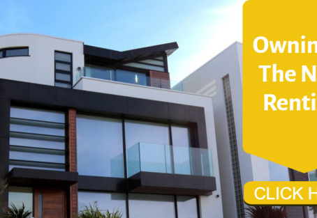 Owning Is the New Renting