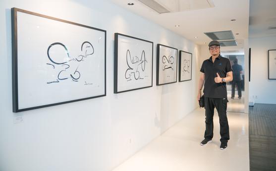 台湾名漫画家東京展示会