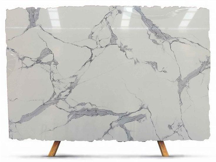 Compressed Marble-Statuario