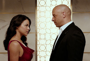 marble decor in fast and furious 7 movie