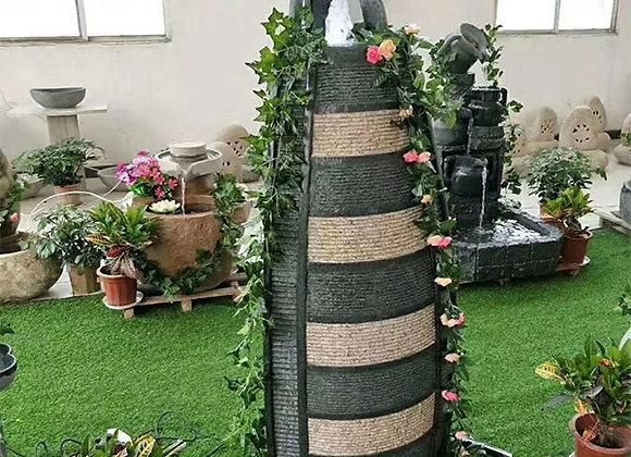 Garden Plant Water Feature  Flowerpot