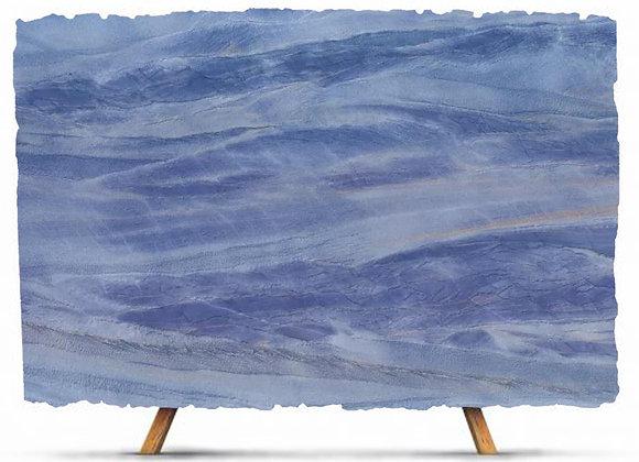 Man Made Blue Skylight Quartzite Stone