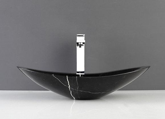 Nero Black  Marble Stone Sink