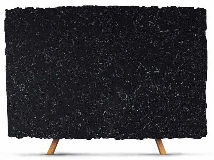 Black quartz cloud pattern