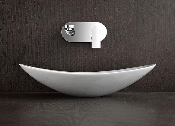 Nero White  Marble Stone Sink