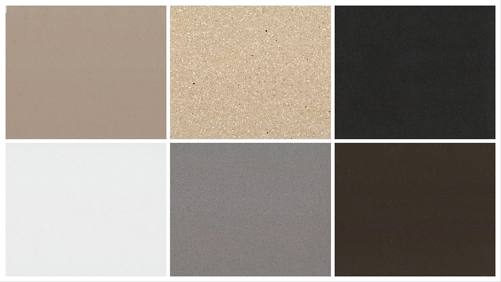 pure base color compress marble in 6 colors