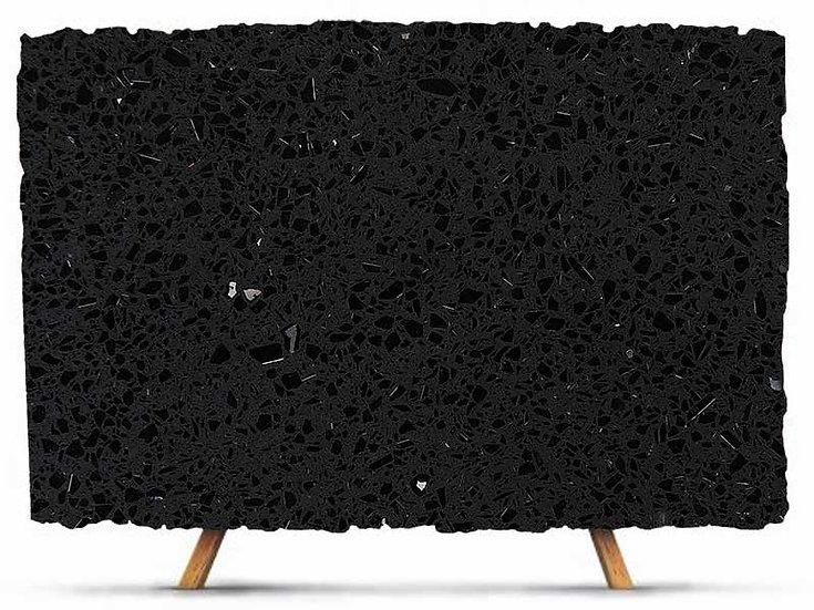 Sparkle black quartz