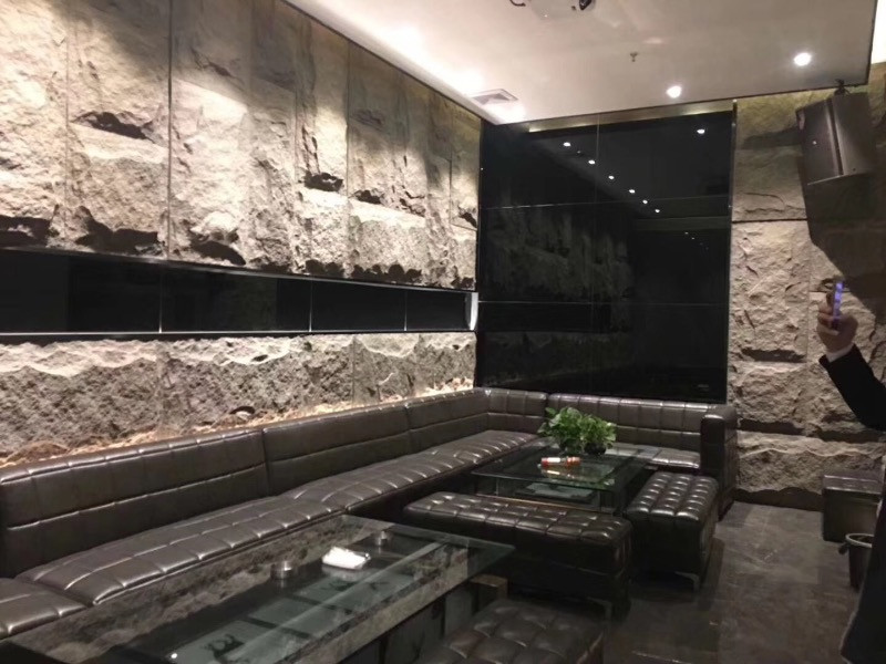 Restaurant Interior Wall Cladding
