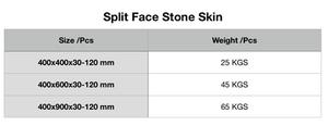 Specification of Split Face Stone Skin