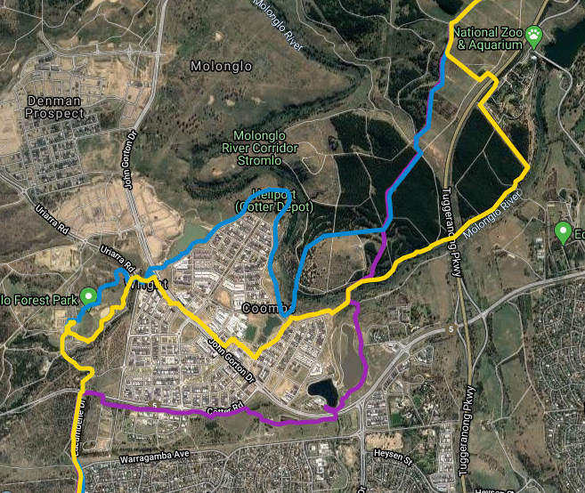 Centenary Trail, Coombs, Canberra Centenary Trail
