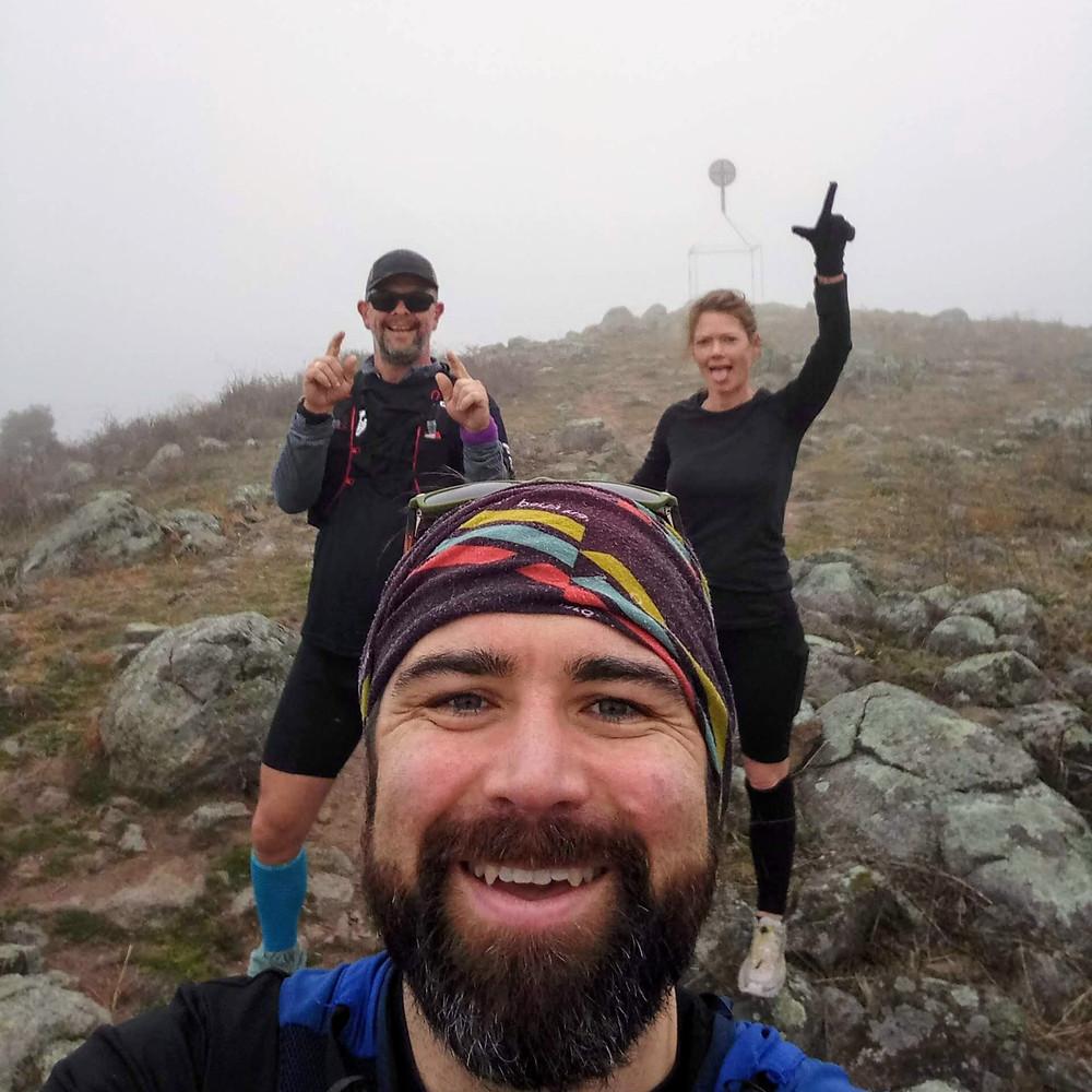 Trail running, Canberra, Mist, Gunrunners
