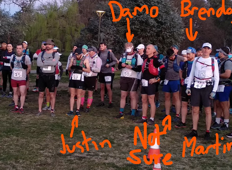 Friends with Pain: CBR Sri Chinmoy 100km