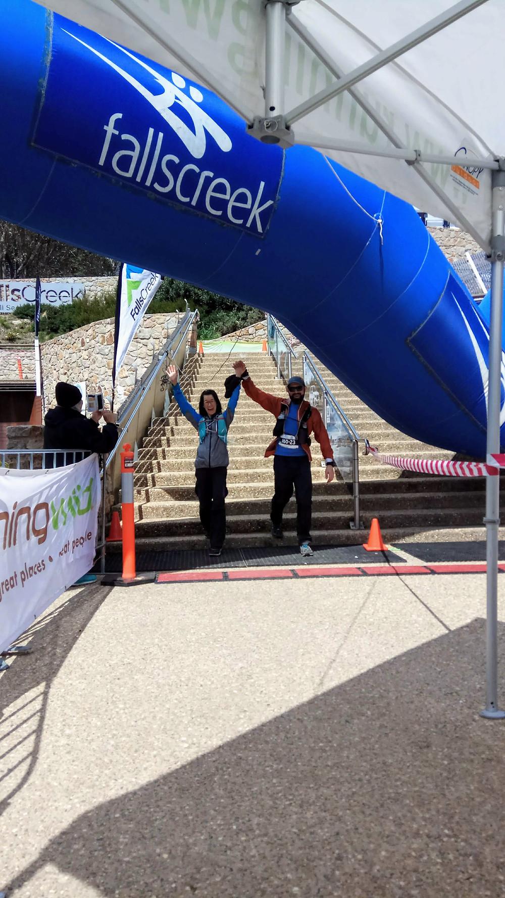 Alpine Challenge 100 miler finish