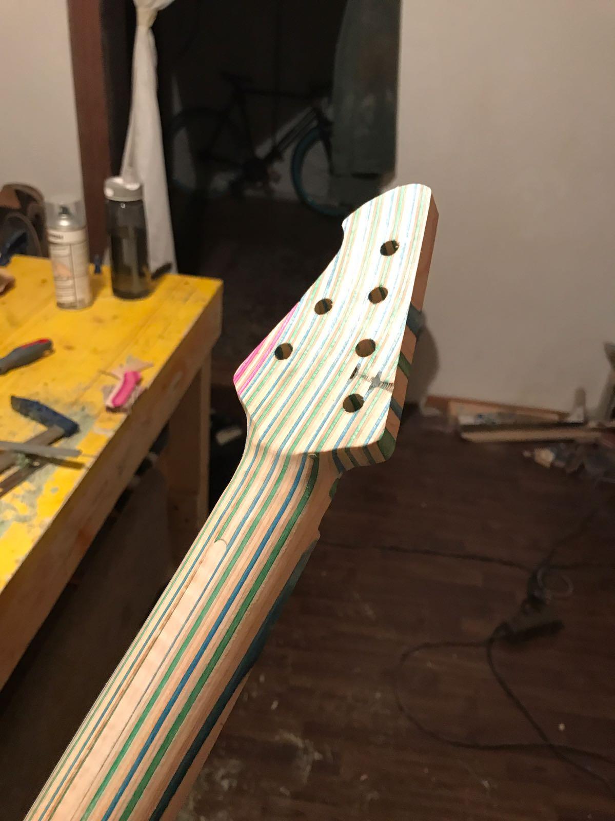 Skateboard Guitarneck