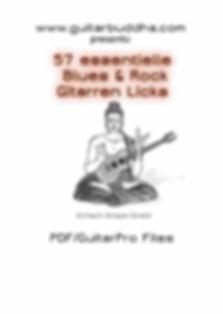 57 essentlielle Blues und Rock Gitarren Licks, PDF, GuitarPro, guitar buddha, Gitarre lernen Wien