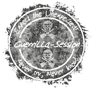 Guerrilla Stamp never try nevr know inve