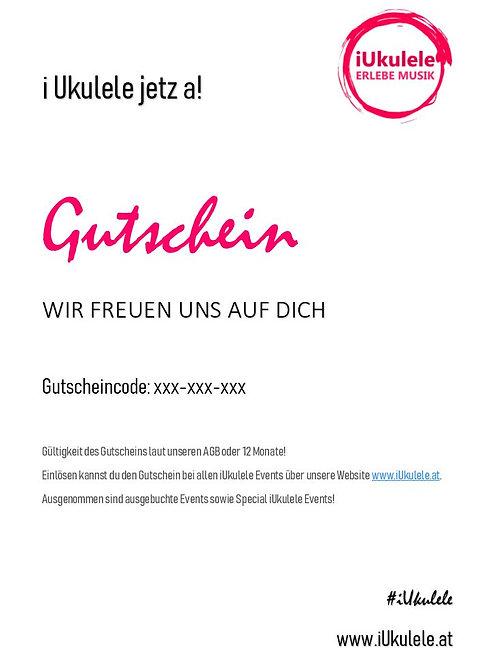 iUkulele Gutschein