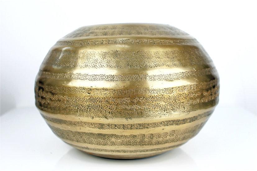 Vase EMIR im orientalischen Design goldfarben