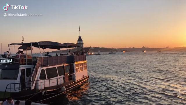 Visit Istanbul Sunset