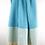 Hamamtuch türkis blau Streifen