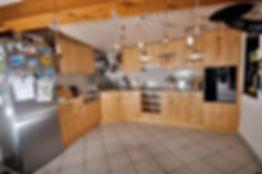 Cuisine merisier massif