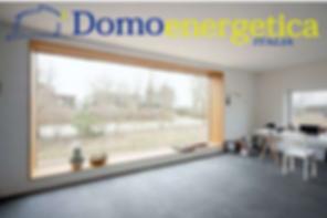 Infissi in PVC e alluminio su misura e standard- Domoenergetic Roma Infernetto