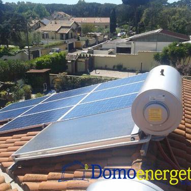 Impianti solari domoenergetica Roma Infernetto