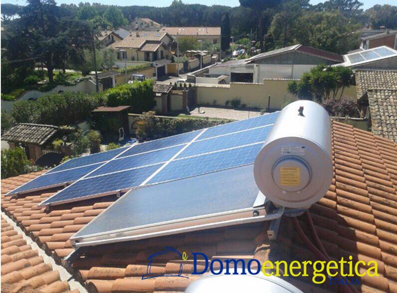 Impianti solari e pannelli solari- Domonergetica Roma Infernetto