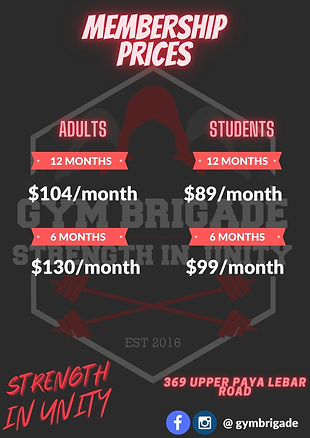 /month membership