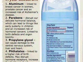 Is Your Deodorant Toxic?