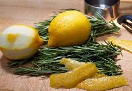 Rosemary Lemon Peel Sea Salt Scrub