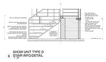 UNITS TYPE C AND D - STAIR BALUSTRADE WA