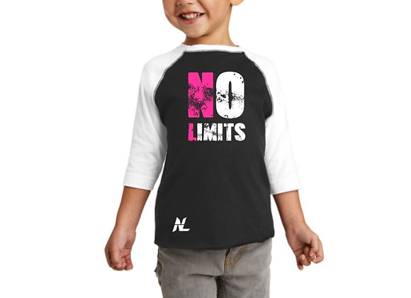 NO LIMITS GEAR TODDLER 3/4 SLEEVES