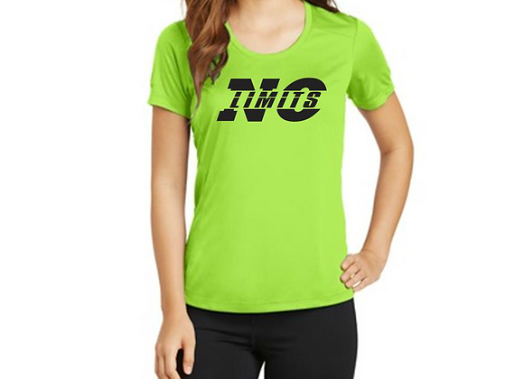 Ladies NO LIMITS Scoop Neck Performance Shirt