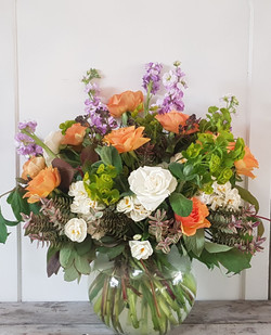 Seasonal flower vase from £45