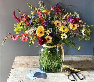 Locally grown flowers South Yorkshire