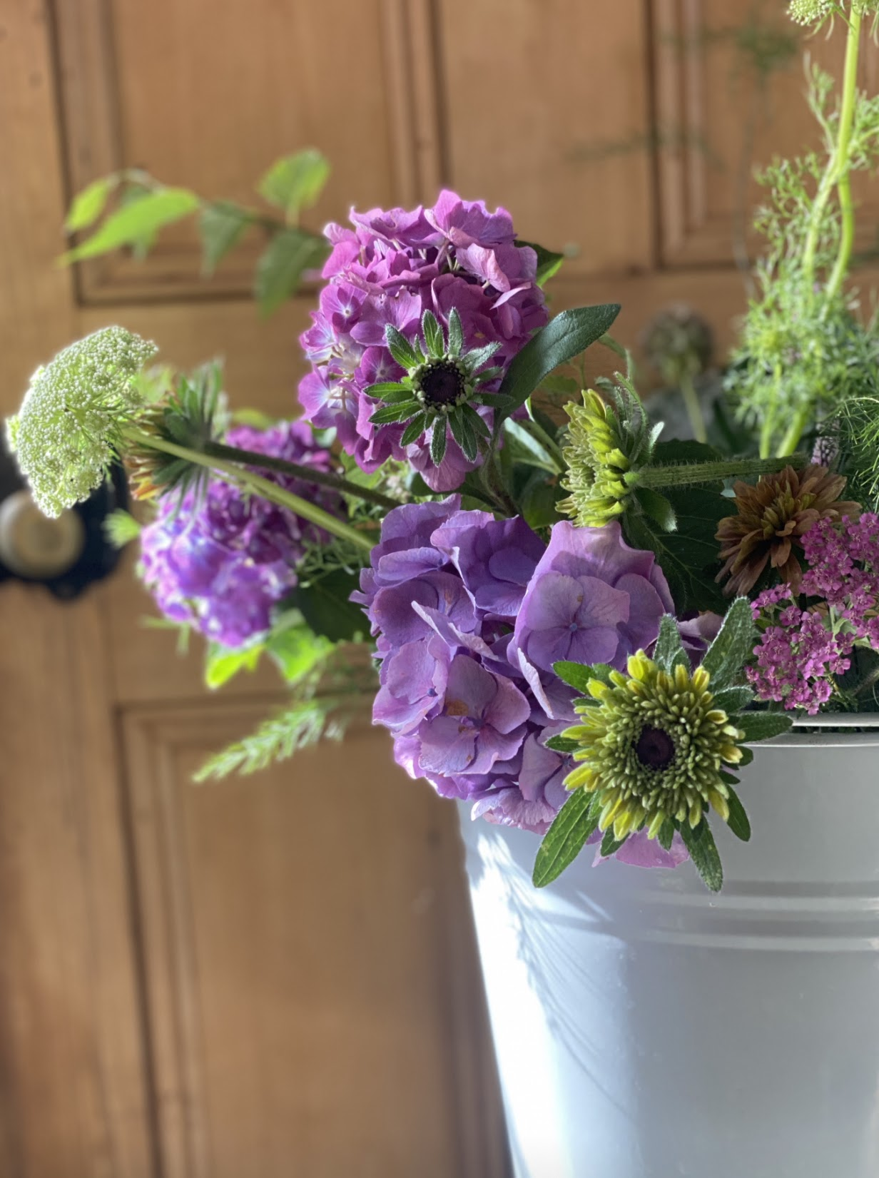 September flowers from the cutting patch