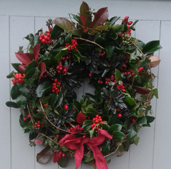 Luxury Christmas Wreaths from £45