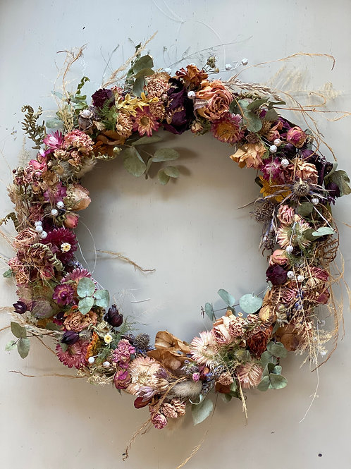 Bespoke Dried Flower Wreath