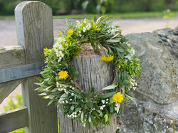 Eco funeral wreaths from £65