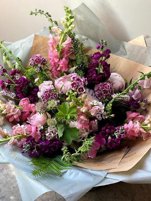 £75 Luxury Seasonal British Flowers