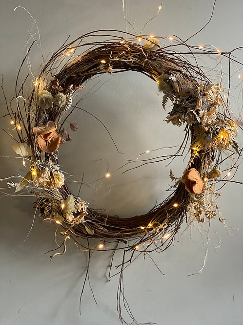 Bespoke Dried Flower Wreath