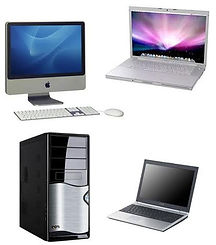 computer fissi portatili e stampanti
