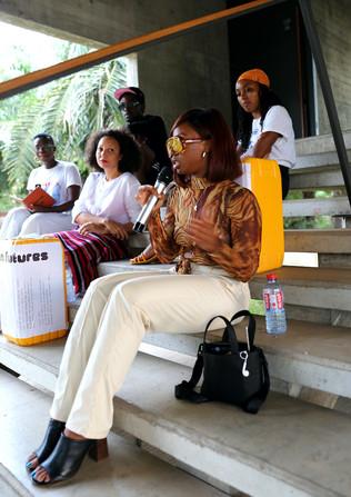Sharifah Issaka, Joey Lit, Stefania Manfreda, Asia Clarke, and Amarachi Nwosu discuss: The Role of Art in Accra's Urban Future