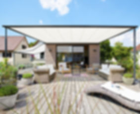 Schaneli, Luxury retractables, pergolas