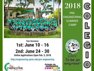 Pre-ENGINEERING SUMMER CAMP